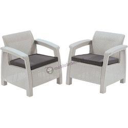 Fotele Corfu Duo Curver Biały