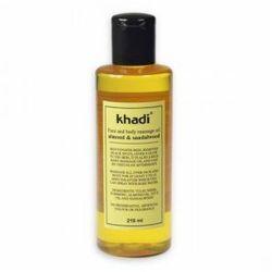Olejek SANDAŁOWO-MIGDAŁOWY do masażu twarzy i ciała - KHADI