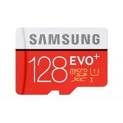Samsung MB-MC128DA/EU 128GB EVO+ microSD Class10 + Adapter DARMOWA DOSTAWA DO 400 SALONÓW !!