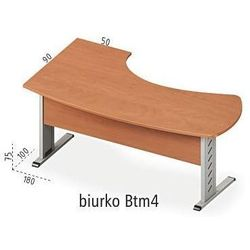 Biurko narożne Btm4