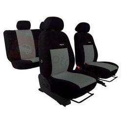 Pokrowce samochodowe ELEGANCE Szare Hyundai i20 II od 2014 - Szary