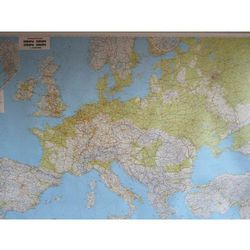 Europa mapa ścienna fizyczna 1:2 600 000 Freytag&Berndt