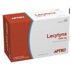 Lecytyna 1200 mg APTEO 40 kaps