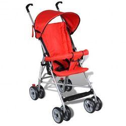 Wózek spacerowy dla dziecka. Czerwony Zapisz się do naszego Newslettera i odbierz voucher 20 PLN na zakupy w VidaXL!