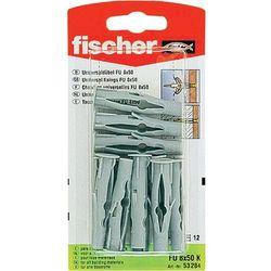 Kołki rozporowe uniwersalne Fischer 53284, 6 x 35 mm, zestaw