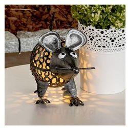 Mysz - solarna lampa dekoracyjna z diodami LED