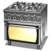 4-palnikowa kuchnia gazowa - piekarnik gazowym