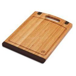 Deska bambusowa MG Home 40x28cm brązowa