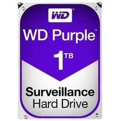 Dysk twardy Western Digital WD10PURX - pojemność: 1 TB, cache: 64MB, SATA III, 5400 obr/min