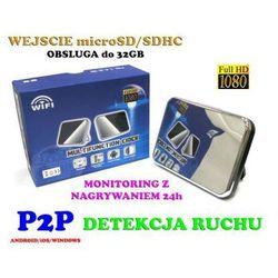 Kamera FHD WiFi/P2P (Cały Świat!) Ukryta w Zegarku.
