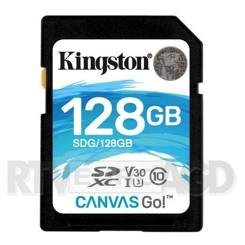 Kingston Canvas Go SDXC 128GB UHS-I