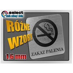 TABLICZKA ZAKAZ PALENIA - LAMINAT 1,6 mm, 12x12 cm