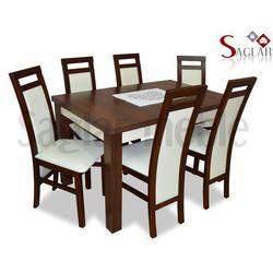 Zestaw REN VI 4 krzesła i stół 80x120/160
