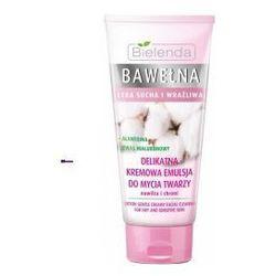 Bielenda Bawełna (W) delikatna kremowa emulsja do mycia twarzy 150g