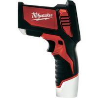 Pirometr Milwaukee C12 LTGE-0, Optyka 40:1, Od - 30 do + 800 °C, dla pomiarów kontaktowych -40 do +550 °C