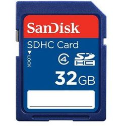 Karta SANDISK SDHC/32GB Class 4