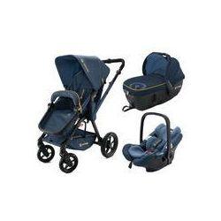 Wózek wielofunkcyjny Wanderer 3w1 Travel Set Concord (denim blue)