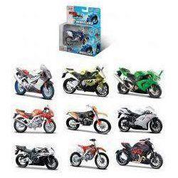 Motocykl bez podstawki 1/18 różne rodzaje