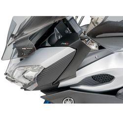 Deflektory boczne przedniej owiewki do Yamaha MT-09 Tracer (czarny mat)