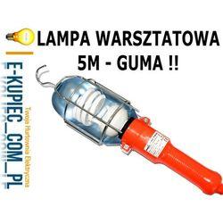 OPRAWA LAMPA GARAŻOWA WARSZTATOWA 5M GUMA