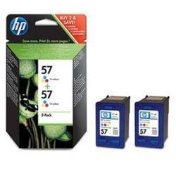 Tusz HP C9503AE nr 57 (2x17ml) zestaw dwupak trójkolorowy 2szt.