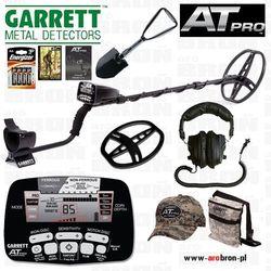 Wykrywacz metalu GARRETT AT PRO + słuchawki + osłona + saperka - Gwarancja do 5 lat