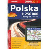 Atlas samochodowy Polska+Eur. 1:250 000 2016/2017