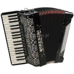 Moreschi ST 496 Deluxe 37/4/11 96/4/4 Musette akordeon (czarny) Płacąc przelewem przesyłka gratis!
