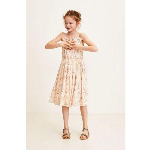 2bcfc71a91 Mango Kids - Sukienka dziecięca Garden 110-152 cm - porównaj zanim ...
