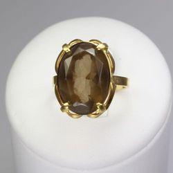 Złoty pierścionek P925