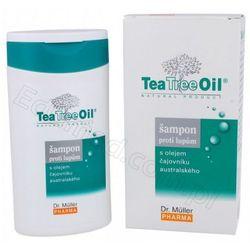 Tea Tree Oil Szampon przeciwłupieżowy z olejkiem z drzewa herbacianego (200ml)