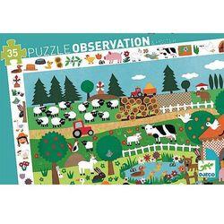 Puzzle obserwacyjne - Farma