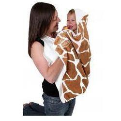 Cuddledry Baby Ręcznik Żyrafka