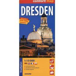 ExpressMap Drezno laminowany plan miasta 1:15 000 (opr. broszurowa)