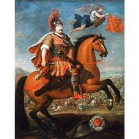 Reprodukcja Apoteoza króla Jana III Sobieskiego Georg Philipp Rugendas