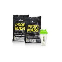 Olimp 2x Profi Mass + Shaker 2x1000g+1szt