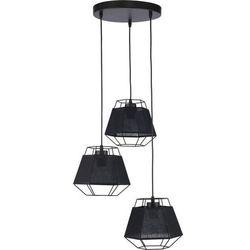 CRISTAL black 3 zwis - żyrandol/lampa wisząca