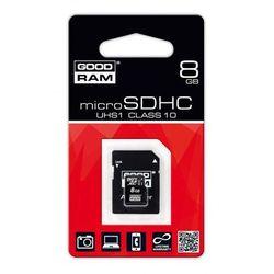 Karta pamięci microSDHC UHS1 8 GB + adapter SD
