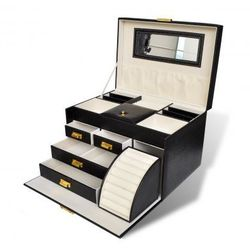 Kuferek na biżuterie. Zapisz się do naszego Newslettera i odbierz voucher 20 PLN na zakupy w VidaXL!