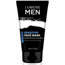 Lumene Men Sensitive - Łagodzący żel do mycia twarzy dla mężczyzn 150ml