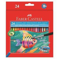 Kredki akwarelowe Faber-Castell Rybka FC114425 24kol.