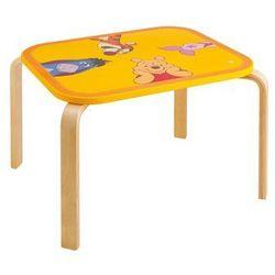 Kubuś Puchatek, Drewniany stolik dla dzieci Darmowa dostawa do sklepów SMYK
