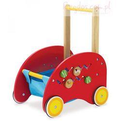 Wózek, pchacz, aktywny koszyk, Manhattan Toy