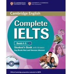 Complete IELTS Bands 4-5 Student's Book (podręcznik) with Answers and CD-ROM (opr. miękka)