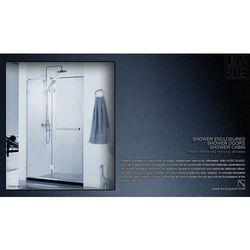Drzwi prysznicowe AXISS GLASS AN6221WF-1R 1000mm