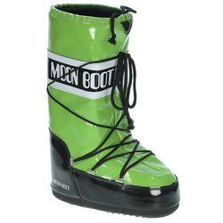 buty Tecnica Moon Boot Vinil - Acid Green/Black