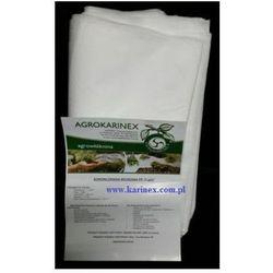 Agrowłóknina wiosenna PP 17 g/m2 biała 1,6 x 10 mb. Paczka o wadze 0,3 kg.