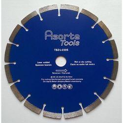 Asorte Tools_ Tarcza diamentowa do cięcia betonu i żelbetonu fi 230 mm ( Do dużej szlifierki kątowej )