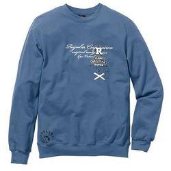 Bluza Regular Fit bonprix niebieski dżins