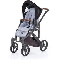 ABC DESIGN Wózek dziecięcy Mamba plus graphite grey-black,stelaż cloud / siedzisko graphite grey